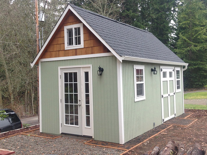 Better bilt storage barns western washington garden sheds for Sheds and barns